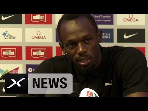 """Usain Bolt: """"Jose Mourinho hat sich noch nicht gemeldet""""   Manchester United"""