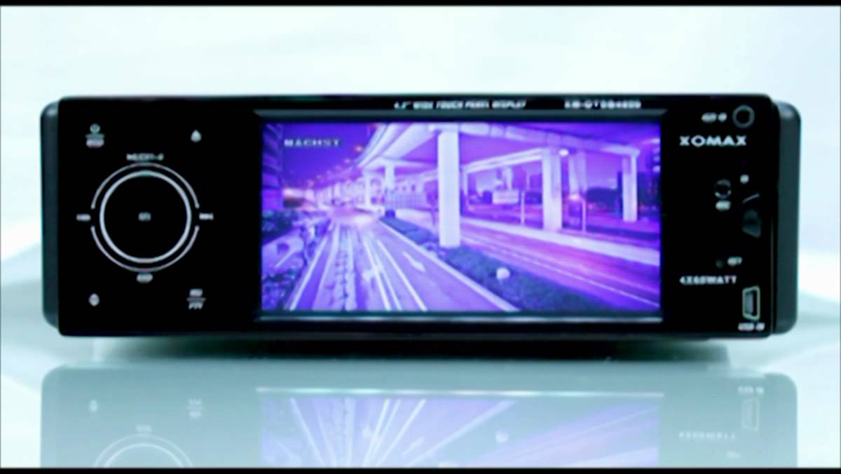 test dvd autoradio xomax xm dtsb4800 youtube