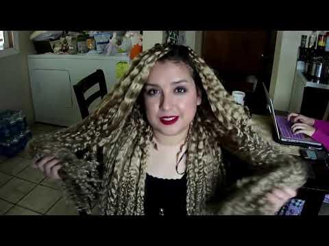 DIY: Trenzas africanas sueltas y cabello largo con extensiones   Facil y econmico!