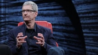 Apple CEO Tim Cook_ Patent Wars Pain in the Ass - D10 Conference