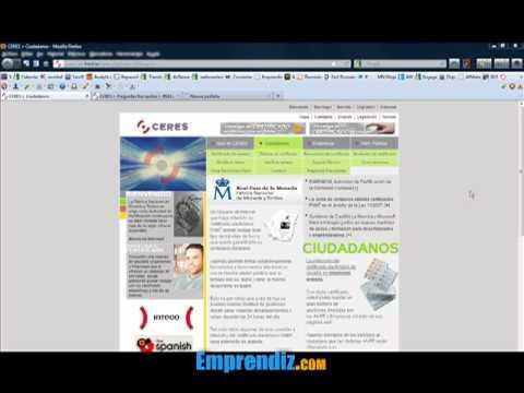 Cómo Obtener el Certificado Digital
