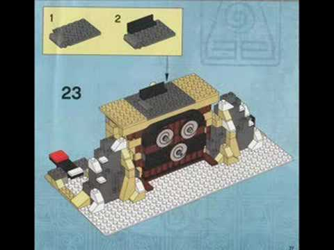 "How to build ""The Southern Air Temple"" out of legos"