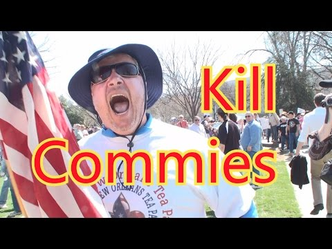 Exploding Tea Party Protester Threatens Interviewer (Original)