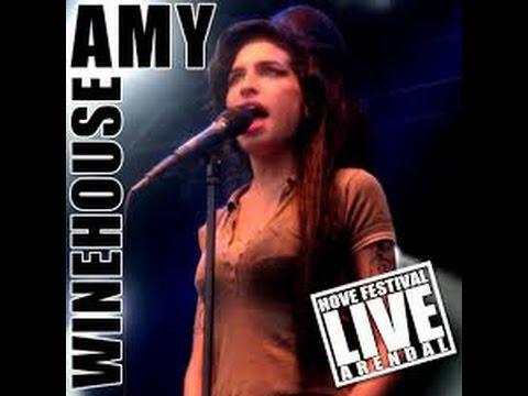 Hove Festival Amy Winehouse