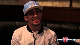 Danny Garcia on new diet, KO in Round 4 over Malignaggi, being a puerto rican fighter  & more