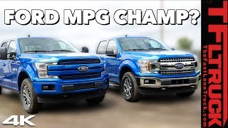 Ford F-150 V8 vs Turbo Towing MPG Test | If You Want The Best F-150 Fuel Economy Buy THIS Truck!
