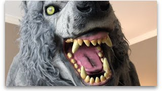 6.5' Towering Werewolf Animatronic by Home Accents (Home Depot) Halloween Decoration