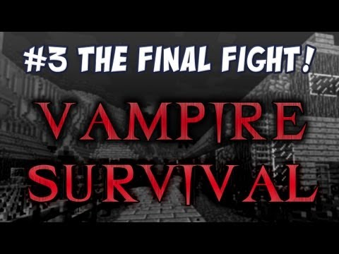 Minecraft Vampire Survival - The Final Fight!