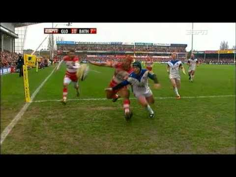 Aviva Premiership Highlights 2011 - Gloucester v Bath - Aviva Premiership Rugby 2010/11 - R17