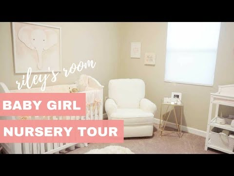 Baby Girl Nursery Tour | Riley's Room