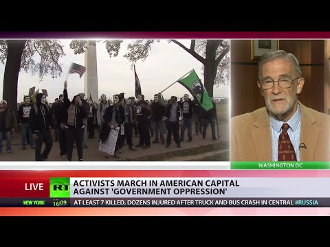 'Anonymous could become our Arab Spring' – ex-CIA on Million Mask March day