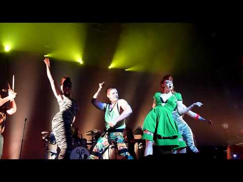 Scissor Sisters - Let's Have A Kiki/Comfortably Numb live @ Fox Theater, Oakland June 17, 2012