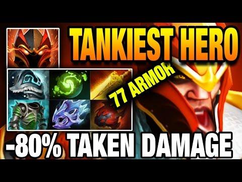 TANKIEST HERO in Dota 2 7.05 - WTF Is This Sh#!T MidOne [Dragon Knight]