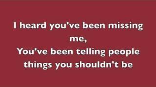 Adele Video - Rumor Has It - Adele (Lyrics)