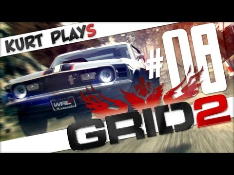 Kurt Plays GRID 2 - E08 - Tuck and Roll