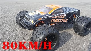 Monster Truck RC Car - Maximus 1/8 80KM/H 4WD Brushless