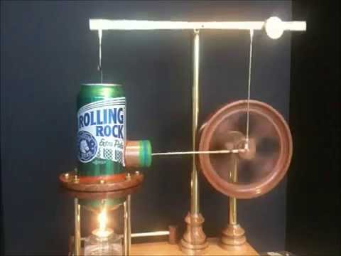 Making the Rolling Rock Stirling Engine