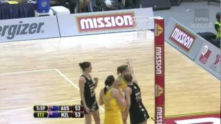Netball World Championship FINAL AUS V NZ 2011 OVERTIME