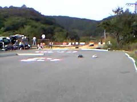 Japanese RC drift competition