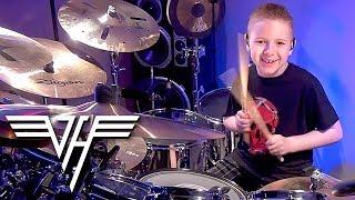 """Jump, Van Halen"" Avery Molek, 8 year old Drummer"