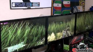 GTX Titan vs Crysis 3 - gameplay Surround 5760x1080 - very high image quality