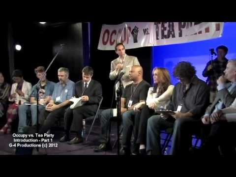 #001 / 013 - OCCUPY vs TEA PARTY Show - Pre-Introduction Kickstarter Funded