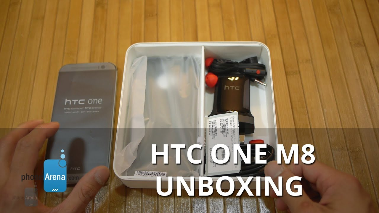 Audio Htc One m8 Htc One m8 Unboxing And
