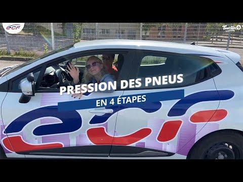 La pression des pneumatiques