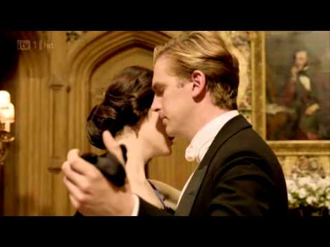 Matthew And Mary Dance Scene - Downton Abbey