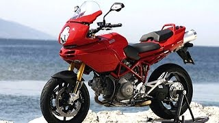 Ducati Multistrada 1100 exhaust sound and acceleration compilation