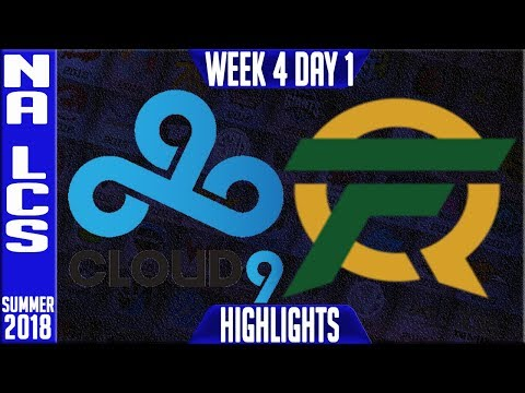 C9 vs FLY HIGHLIGHTS   NA LCS Summer 2018 Week 4 Day 1   Cloud9 vs FlyQuest Highlights