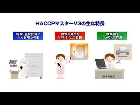 HACCPマスターV3の紹介