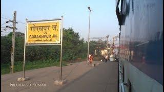 Grand Departure from the WORLD'S LONGEST PLATFORM at GORAKHPUR JN.