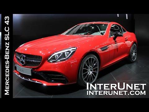 2017 Mercedes-Benz SLC 43 – luxury sport car