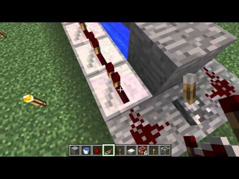 Minecraft How to: Make a TNT cannon (simple) 1.7.10