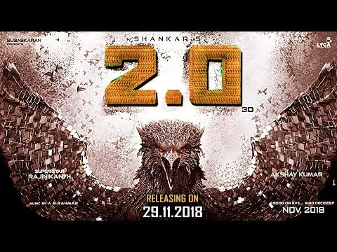 Enthiran 2   2.O Official Releasing Review   2 Point O Release official   Rajinikanth   Shankar thumbnail