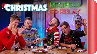 Christmas Recipe Relay Challenge! | Pass It On S2 E2