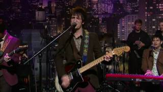 Panic at the disco - Nine In the Afternoon HD (Late show with David Letterman)