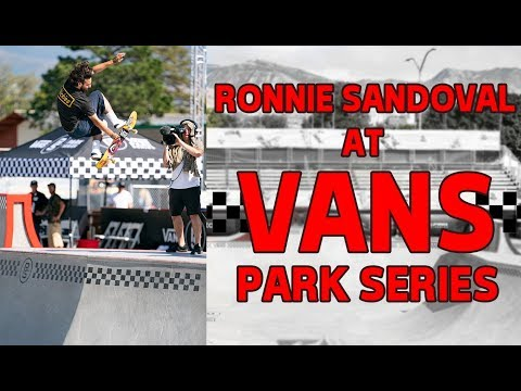 Build It and They Will Skate | Ronnie Sandoval at Vans Park Series
