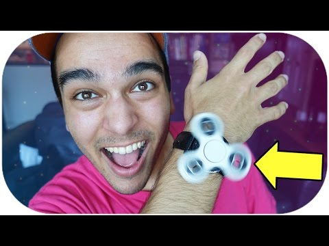 DIY CUSTOM FIDGET SPINNER WATCH! CRAZY TOY LIFE HACK!