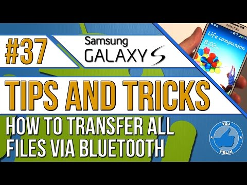 How to TRANSFER ALL FILE TYPES Using Android Bluetooth!