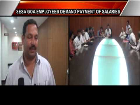 SESA GOA EMPLOYEES MEET LABOUR MINISTER