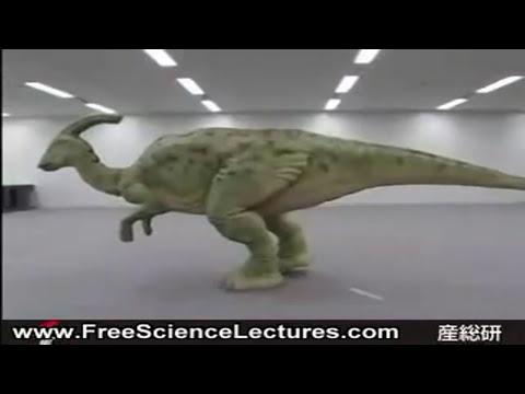 Dinosaurio Robot Gigante en Japón
