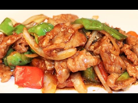 Chinese Pepper Steak Recipe-Chinese Food-Dinner for 2
