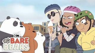 We Bears Bears | Baby Bears B-Ball Showdown | Cartoon Network