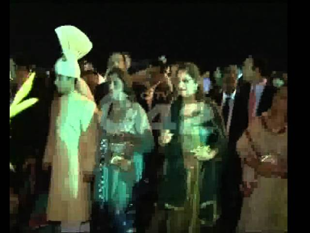 Samina Ghurki Daughter Mehreen Khalid Marriage Ceremony City42.flv