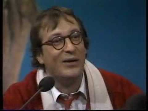 Youp van 't Hek droomt over een eindejaarsconference in 1985 .....