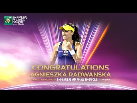 Agnieszka Radwanska Qualifies For 2014 WTA Finals