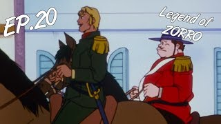 VENGEANCE - The Legend of Zorro, 20 - EN