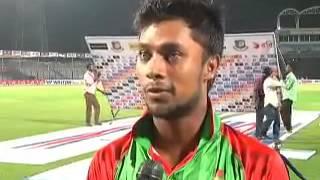 Sabbir Rahman interview After Beating India 2-1